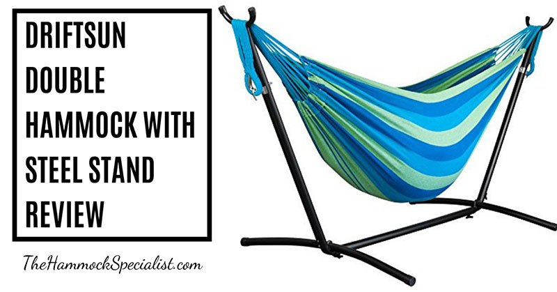 Driftsun Double Hammock With Steel Stand
