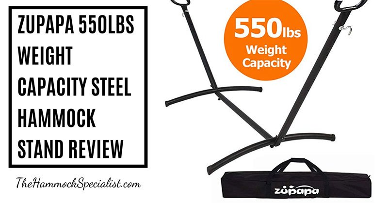 Zupapa 550lbs Weight Capacity Steel Hammock Stand