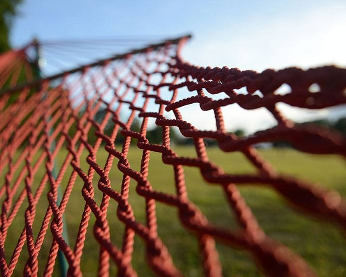 how to make a rope hammock chair