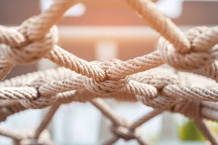how to make a rope hammock without bars