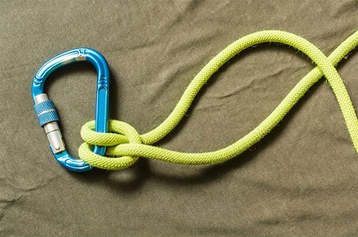 best knot for tying hammock to tree